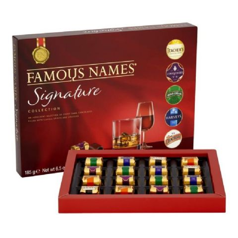 Famous Names Signature Collection Gift Box Elizabeth Shaw 185g